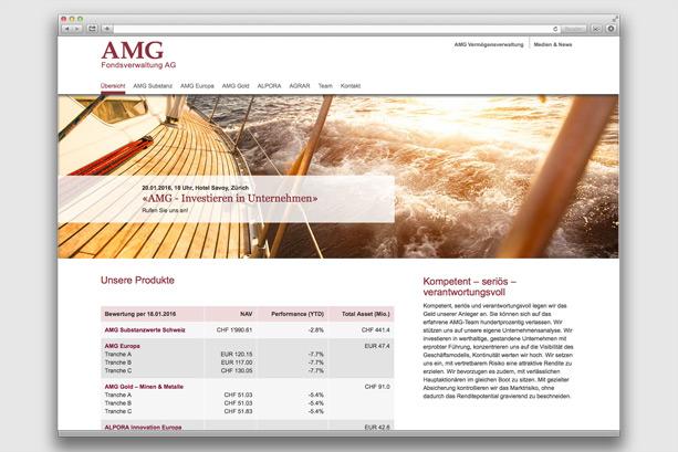 2016 | Übersichtseite AMG Fondsverwaltung AG