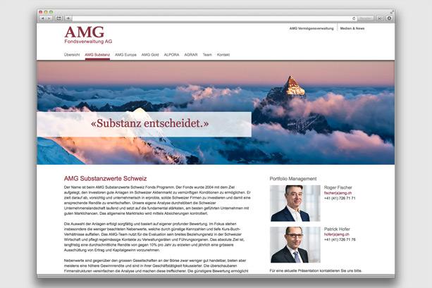 2016 | Übersichtseite AMG Substanzwerte Schweiz