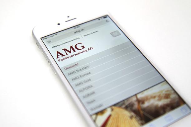 2016 | Übersichtseite AMG Mobile