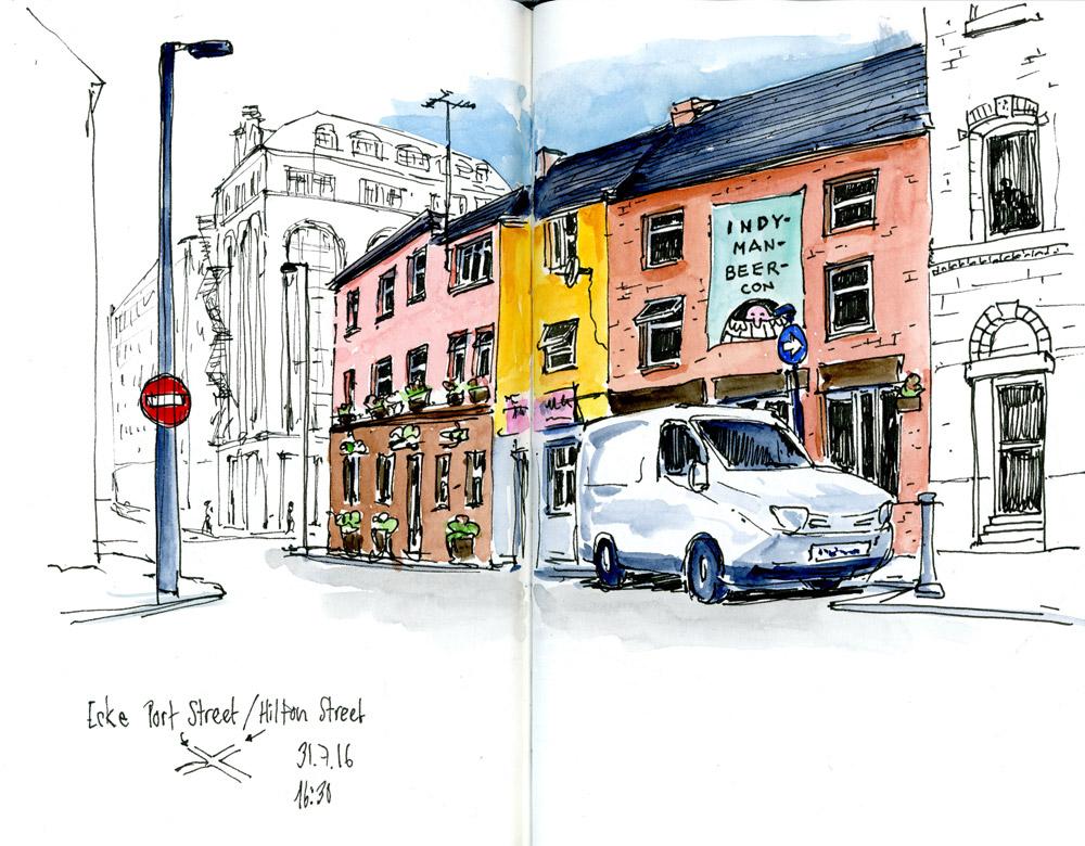 Manchester im Northern Quarter
