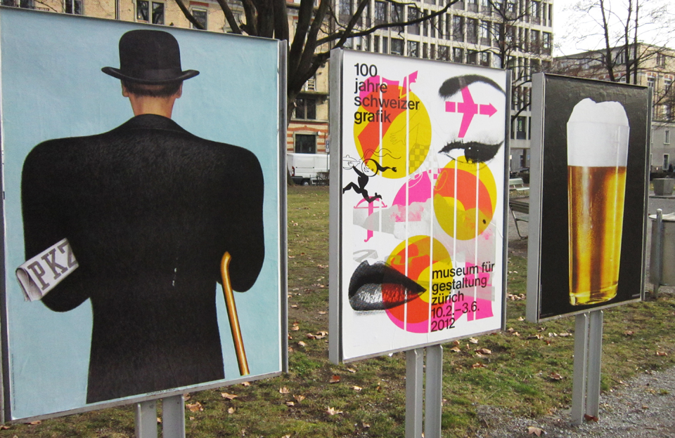 Ausstellung 100 Jahre Schweizer Grafik