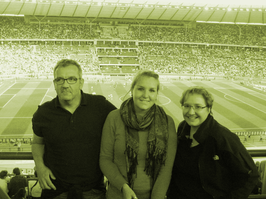 @olympia Stadium | René, Fabienne, Astrid