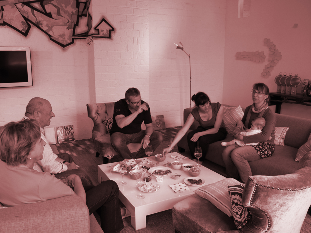 @home | Trudy, Meinrad, René, Ramona, Heidi