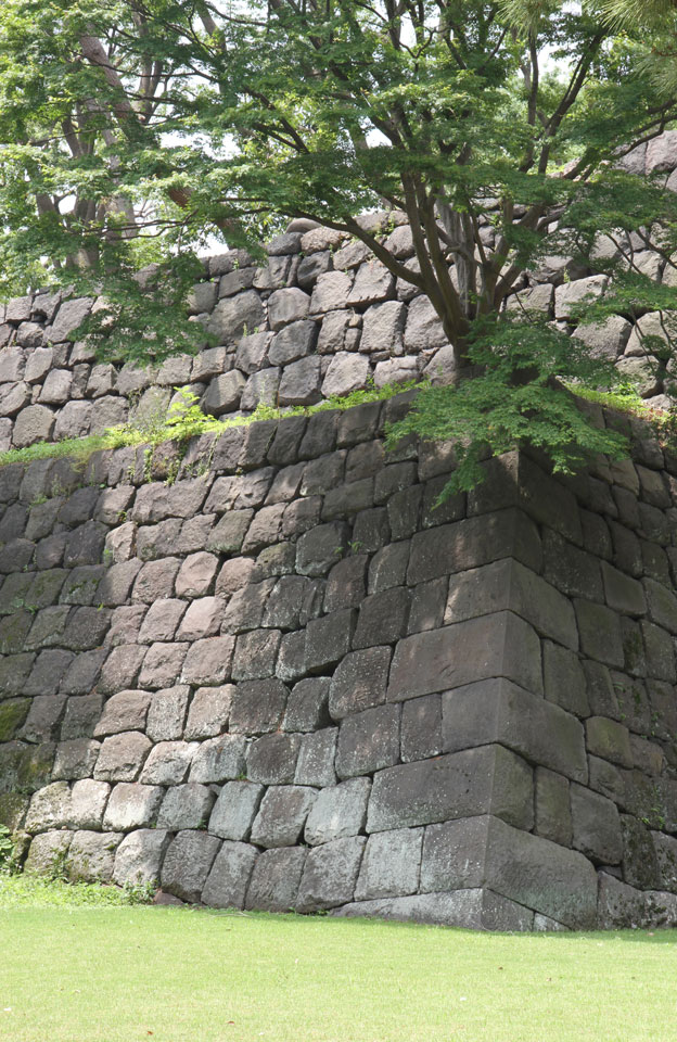 Kaisergarten | Bewachsene Festungsmauern
