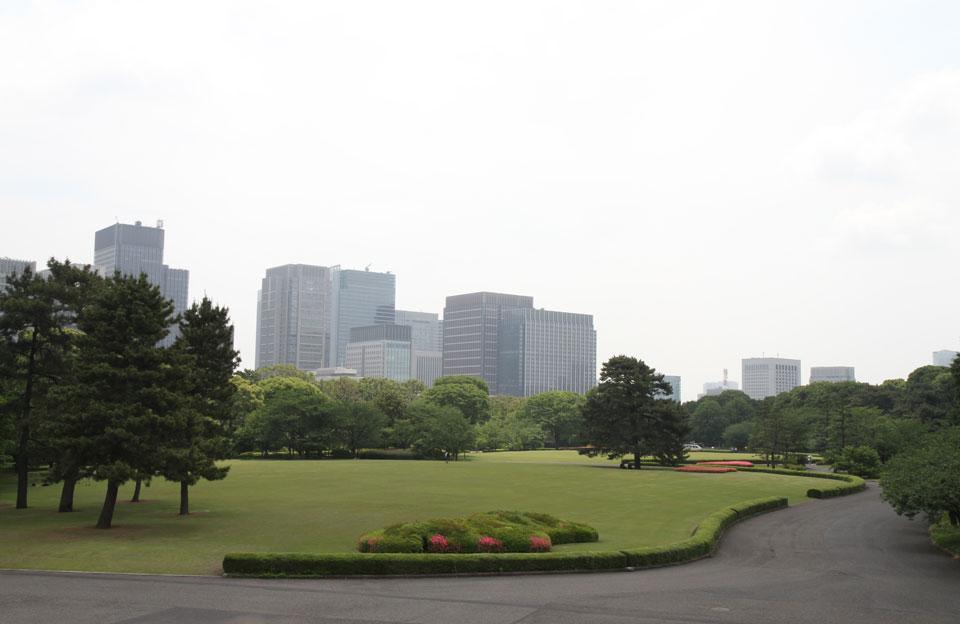 Kaisergarten | Sicht auf Grünanlage