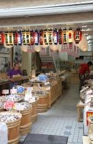 Tsukiji Lebensmittelmarkt | Getrocknete Fische