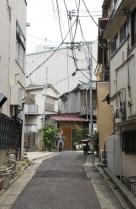 Meguro | Blick in Seitengasse