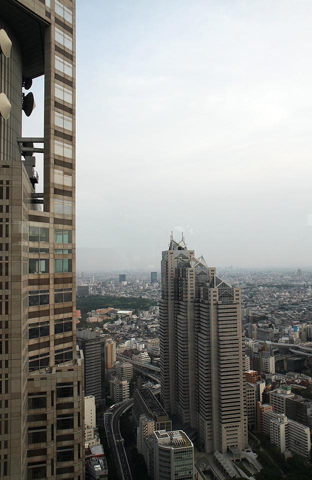 Aussicht vom Tokyo Metropolitan Government Office