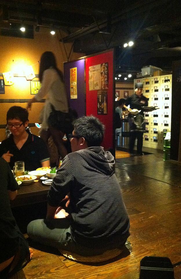Restaurant | Zwar nicht im Schneidersitz, trotzdem ungewohnt