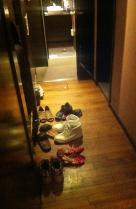 Restaurant | Schuhe ausziehen wie zu Hause