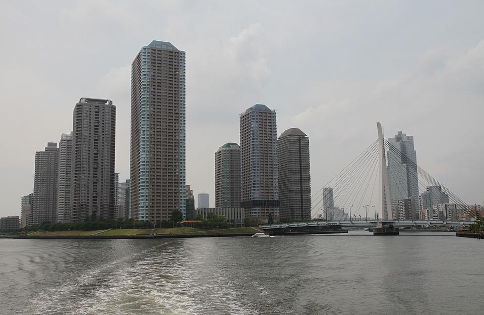 Bootsfahrt | Chuo-Ohashi-Brücke