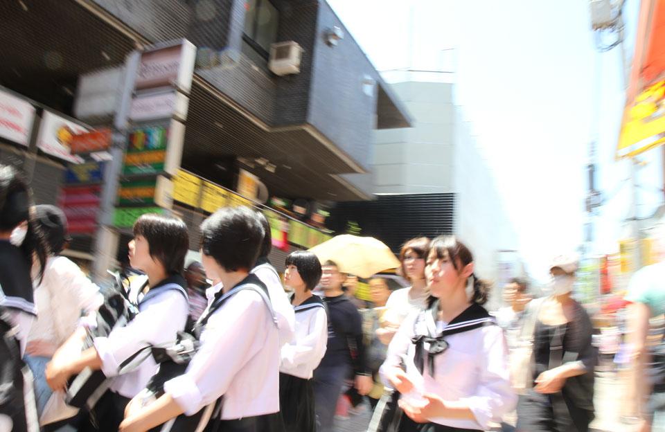 Harajuku | Auf ins Getümmel (erst recht nach der Schule!)