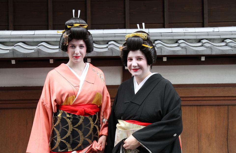 Ito | Geisha-Akademie, Outdoor-Posing