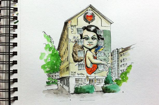 himmelrich-wandbild